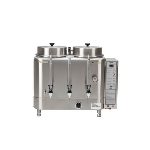 Curtis RU300 Μηχανή Καφέ Φίλτρου Ανοξείδωτη Με 2 Κάδους 11,3 lt - Παραγωγή Καφέ: επαγγελματικός εξοπλισμός   μηχανές καφέ   συσκευές για bar   μηχανές καφέ φίλτρ
