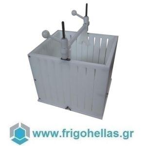 00019 Σουβλακομηχανή Πολυαιθυλενίου (ΕΤΟΙΜΟΠΑΡΑΔΟΤΑ) Για 108 Τεμάχια Σουβλάκια & Καλαμάκια Πλακέ - Βάρους: 110gr