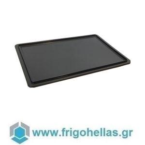 10002 (60x40cm) Μαύρο (RAL9011) Καπάκι για Δοχεία Τροφίμων VAS007/010/013
