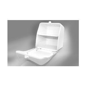 Lamaplast Delivery Box Plus+ Λευκό Ισοθερμικό Κουτί για μηχανάκι - 500x510x590mm