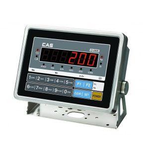 CAS CI-200S Inox Εξωτερικός Ενδείκτης Βάρους LED - 200x170x100mm
