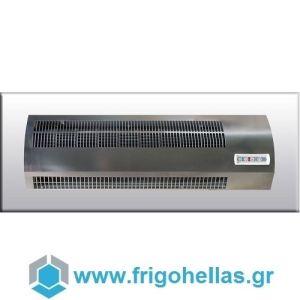 OLEFINI - ΟΛΕΦΙΝΗ Intelect 0.8 Αεροκουρτίνες  Θερμαινόμενες Χαμηλής Παροχής 400Volt (Πλάτος Πόρτας: 80cm - Μοτέρ: Δεξιά)