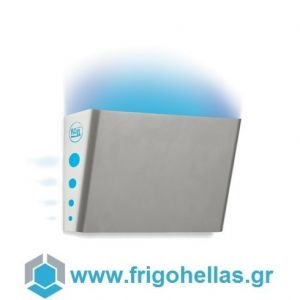 MOEL 398 INOX Εντομοπαγίδα Ηλεκτρική Επιτοίχια- Απλίκα με Λάμπα UV (Κατάλληλο για 50τετ.)