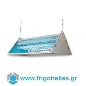 MOEL 397 Εντομοπαγίδα Ηλεκτρική Κρεμαστή ή Επιτραπέζια με Λάμπα UV HACCP (Κατάλληλο για 850τετ.)