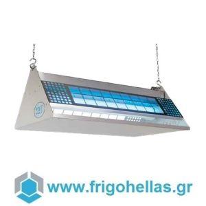 MOEL 372 INOX Εντομοπαγίδα Ηλεκτρική Κρεμαστή ή Επιτραπέζια με Λάμπα UV HACCP (Κατάλληλο για 850τετ.) (Δώρο 1 Μαχαίρι VictorInox)