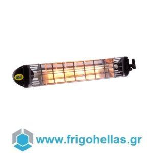 MOEL 766 Θερμάστρα Υπερύθρων Ηλεκτρική & Αδιάβροχη 1,2Kw (Κατάλληλη για Χώρο: 4-6τετ.)