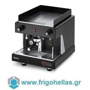 WEGA Pegaso Opaque EPU/1 Μαύρη Ημιαυτόματη Μηχανή Espresso ( Groups: 1 ) (Υποστηρίζεται από εξουσιοδοτημένο Service)