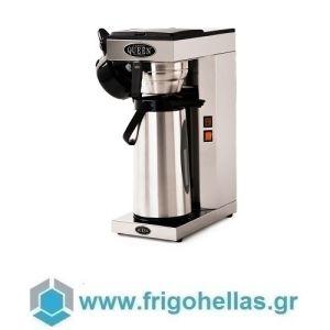 COFFEE QUEEN Thermos-M Μηχανή Καφέ Φίλτρου Ανοξείδωτη Με Θερμός  (Υποστηρίζεται από εξουσιοδοτημένο Service)