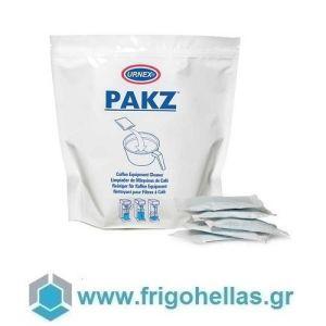 URNEX Pakz Φακελάκι Καθαρισμού Μηχανών Καφέ Φίλτρου & Δοχείων Σερβιρίσματος
