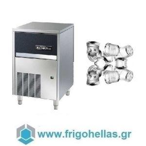 BELOGIA C85A Παγομηχανές (Παγάκι Συμπαγές: 18gr - Παραγωγή: 85kg/24h) (Υποστηρίζεται από εξουσιοδοτημένο Service)