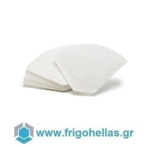 BELOGIA #2 Κώνικα Χάρτινα Φίλτρα Μίας Χρήσεως για Οικιακές Μηχανές Καφέ Φιλτρου - Χωρητικότητα Αλεσμένου Καφέ: 1-4  Φλιτζάνια (Συσκευασία: 40 τεμάχια)