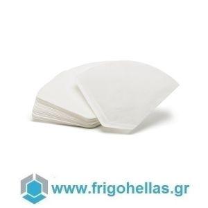 BELOGIA #4 Κώνικα Χάρτινα Φίλτρα Μίας Χρήσεως για Οικιακές Μηχανές Καφέ Φιλτρου - Χωρητικότητα Αλεσμένου Καφέ: 8-12 Φλιτζάνια (Συσκευασία: 40 τεμάχια)
