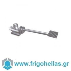 "Fricosmos 460602 Θερμομικτική Ποδοβαλβίδα με ένα Πεντάλ & μια Παροχή 1/2"""