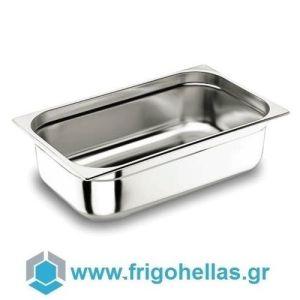 LACOR 11065G (53x32,5x6,5cm - GN 1/1) (Σετ 7 Τεμαχίων) Inox Λεκανάκια Gastronorm (8,5Lit)