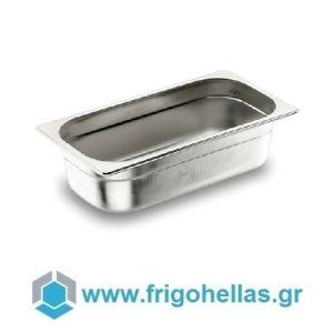 LACOR 12025G (1,2Lit) (26,5x32,5x2,5cm - GN 1/2) Inox Λεκανάκια Gastronorm