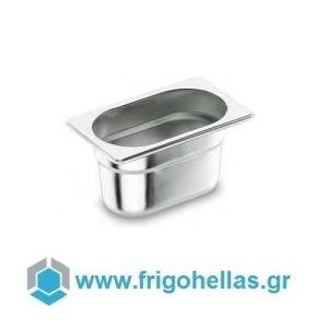 LACOR 13065G (GN 1/3 -17,6x32,5x6,5cm) (Σετ 10 Τεμαχίων) Inox Λεκανάκια Gastronorm