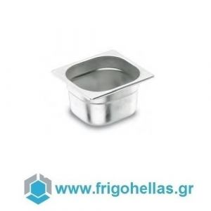 LACOR 16100G (1,6Lit) (GN 1/6 -17,6x16,2x10cm) Inox Λεκανάκια Gastronorm