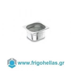 LACOR 19100G (1 Lit) (GN 1/9 -17,6x10,8x10cm) Inox Λεκανάκια Gastronorm