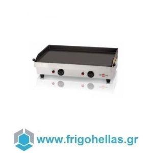 KRAMPOUZ GGCIC3 Πλατό Επαγγελματικά Υγραερίου Ανοξείδωτα (Εξ.διαστάσεις: 554x470x231mm)