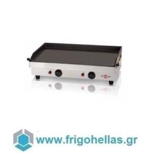 KRAMPOUZ GGCIC4 Πλατό Επαγγελματικά Υγραερίου Ανοξείδωτα (Εξ.διαστάσεις: 804x470x231mm)