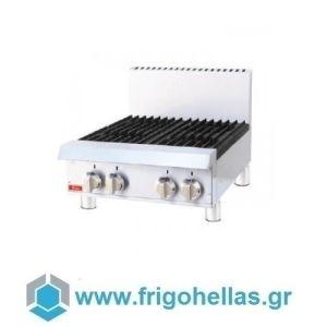 Thor TR-HP424F Επαγγελματική Εστία Υγραερίου Ανοξείδωτη & Επιτραπέζια (Με 4 εστίες) - 609x700x300mm
