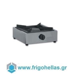 KARAMCO TIGPLNX07 Επαγγελματική Εστία Υγραερίου Μονή Επιτραπέζια - 400x400x200mm