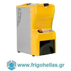 JOHNY AK/14 ECO Παγοθραύστης Κίτρινος (40kg/h max) (Δώρο 1 Μαχαίρι VictorInox) (Εξουσιοδοτημένο service του Κατασκευαστή)
