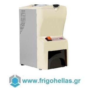 JOHNY AK/14 ECO Παγοθραύστης Μπέζ (40kg/h max) (Δώρο 1 Μαχαίρι VictorInox) (Εξουσιοδοτημένο service του Κατασκευαστή)