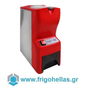 JOHNY AK/14 EXTRA Παγοθραύστης Κόκκινος (80kg/h max) - Δώρο μία Σέσουλα Πάγου (Εξουσιοδοτημένο service του Κατασκευαστή)