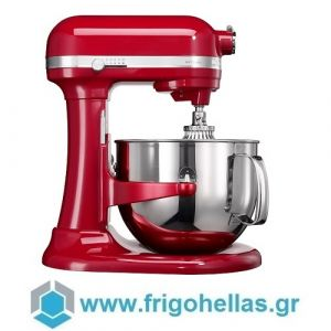KitchenAid 5KSM7580XEER Επαγγελματικό Μίξερ με Αποσπώμενο Κάδο 6,9Lit & 1,3hp (Χρώμα: Empire Red) (Υποστηρίζεται από εξουσιοδοτημένο service στην Ελλάδα)