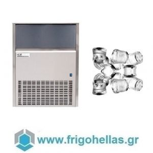 ICETECH SS80 (75Kg/24h) Παγομηχανές Ψεκασμού - Μηχανές Παγοκύβων Με Αποθήκη (Παγάκι:22gr)