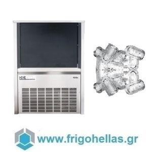ICETECH PS150 (135Kg/24h) Παγομηχανές Ανάδευσης για Σκληρά Νερά - Μηχανές Παγοκύβων Με Αποθήκη (Παγάκι με Τρύπα: 22gr)