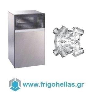 ICETECH PS200 (180Kg/24h) Παγομηχανές Ανάδευσης για Σκληρά Νερά - Μηχανές Παγοκύβων Χώρίς Αποθήκη (Παγάκι με Τρύπα: 22gr)