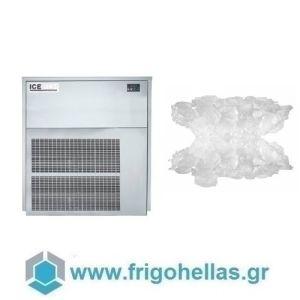 ICETECH GR560 (565Kg/24h) Παγομηχανή Διαιρούμενη - Μηχανή Παγοτρίμματος χωρίς Αποθήκη