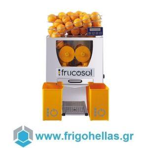 Frucosol F50C Πορτοκαλοστίφτης Αυτόματος με Αυτόματη Τροφοδοσία - Αποχυμωτής Εσπεριδοειδών & Ροδιών - Παραγωγή: 20-25 Φρούτα / Λεπτό