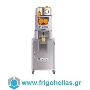 Frucosol Self Service Επιδαπέδιος Πορτοκαλοστίφτης Αυτόματος με Αυτόματη Τροφοδοσία - Αποχυμωτής Εσπεριδοειδών - Παραγωγή: 20-25 Φρούτα / Λεπτό