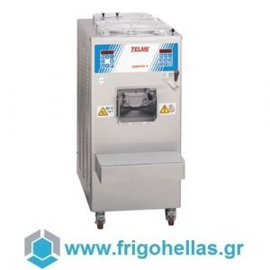 TELME COMBIGEL 8 Υδρόψυκτος Παστεριωτής & Μηχανή Παραγωγής Παγωτού Με 2 Κάδους - Παραγωγή: 35-60Lit/h