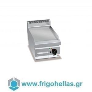 BERTOS E7FL4BP Επιτραπέζιο Πλατό Ηλεκτρικό Με Λεία Πλάκα & Μία Ζώνη Ψησίματος - 400x700x290mm
