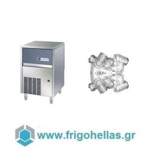 NTF IFT 65A Παγομηχανή Μηχανή Παγοκύβων Με Αποθήκη (Παγάκι: 22gr -  Παραγωγή: 32 kg / 24ωρο) (Υποστηρίζεται από Εξουσιοδοτημένο Service)