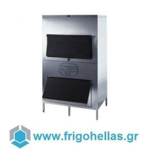 NTF 1200DD Αποθήκη Παγομηχανών Χωρητικότητα: 550 kg (Εξουσιοδοτημένο service του Κατασκευαστή)
