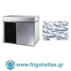 NTF SM 1300A Παγομηχανή Παγολέπι Flakes - Χωρίς Αποθήκη -  Παραγωγή: 620 kg / 24ωρο: (Υποστηρίζεται από Εξουσιοδοτημένο Service)
