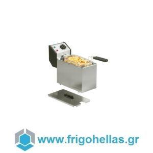 ROLLER GRILL FD50 Επαγγελματική Φριτέζα Ηλεκτρική 5Lit - 3,2Kw - 230Volt (Υποστηρίζεται από Εξουσιοδοτημένο Service)