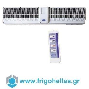 OLEFINI - ΟΛΕΦΙΝΗ KEH-44 IR Αεροκουρτίνες Θερμαινόμενες Πλαστικές Χαμηλής Παροχής Με Ασύρματο Χειριστήριο (Πλάτος Πόρτας: 120cm - Μοτέρ: Κέντρο)