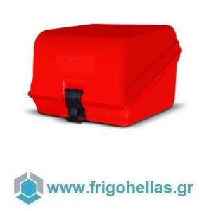 AVATHERM Pizzabox 100305 Ισοθερμικό Κιβώτιο Μεταφοράς Πίτσας για Delivery Κόκκινο-46x60x38cm