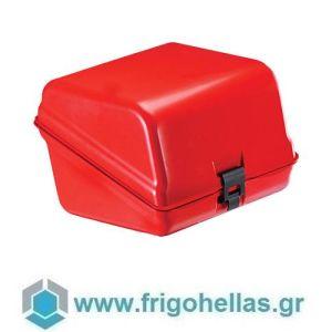 AVATHERM Pizzabox 100306 Ισοθερμικό Κιβώτιο Μεταφοράς Πίτσας για Delivery Άσπρο-46x60x38cm