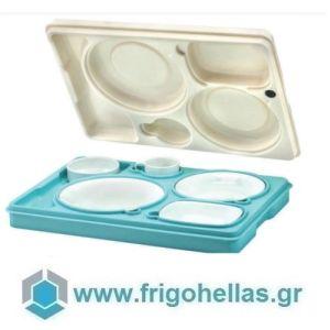 AVATHERM Thermo trays 100446 Ισοθερμική Κιβώτιο Για Σκεύη 6 Θέσεων-53x37x11cm