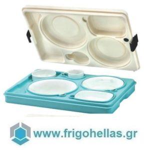 AVATHERM Thermo trays 100461 Ισοθερμική Κιβώτιο Για Σκεύη 6 Θέσεων-53x37x11cm