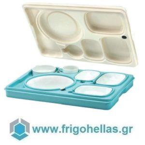 AVATHERM Thermo trays 100476 Ισοθερμική Κιβώτιο Για Σκεύη 7 Θέσεων-53x37x11cm