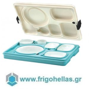 AVATHERM Thermo trays 100491 Ισοθερμική Κιβώτιο Για Σκεύη 7 Θέσεων-53x37x11cm