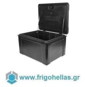 AVATHERM Thermobox 100280 Ισοθερμικό Κιβώτιο Μεταφοράς για Delivery Μαύρο-46x60x38cm